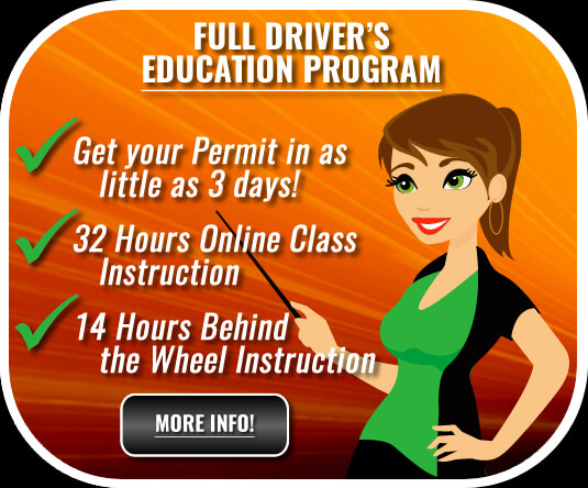 XLR8 Driving School - Full Driver's Education Program Online