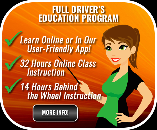 XLR8 Driver's Education Program Waco, Texas - Online Driver's Ed